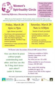 Women's Spirituality Circle @ Williams Lake Secondary | Williams Lake | British Columbia | Canada